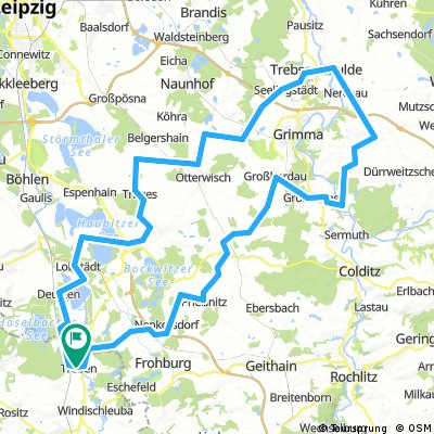 Treben-Bad Lausick-Trebsen-Kitzscher