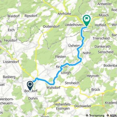 Kalkeifel-Radweg, 21km