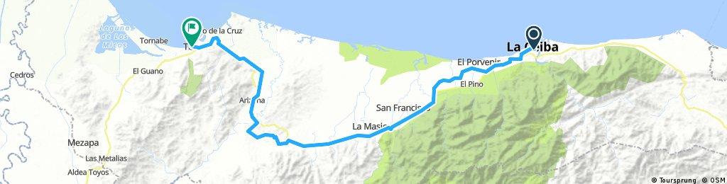 route 42 : La ceiba - Tela