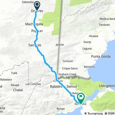 route 62: Dolores - Rio Dulce