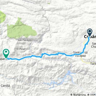route 66: Coban - Uspantan