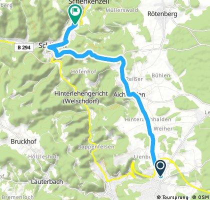 Radrunde von Schramberg nach Schenkenzell