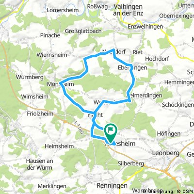 Rund um Rutesheim