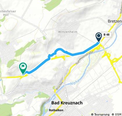 Radweg BAD Kreuznach