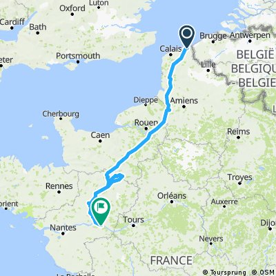 [Summits of my France #2] - Dunkerque Angers