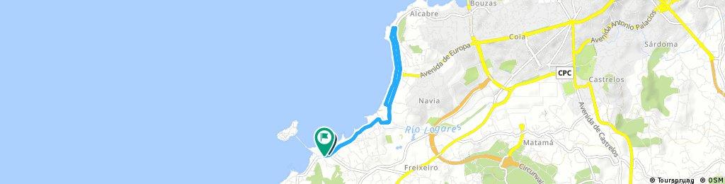 Segmento Carrera a PieTriatlón DSF IslasCíes. 7K