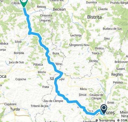 Lengthy ride from Târgu Mureș to Căşeiu