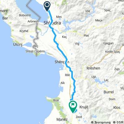 8 Tappa Shkodra (AL) - Fushe Kruje (AL) 98 km