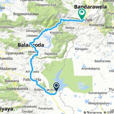 Udawalawa - Haputale
