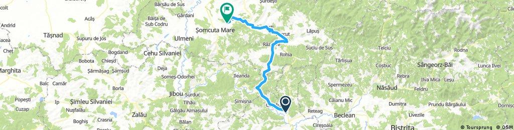 Long ride from Dej to Remetea Chioarului