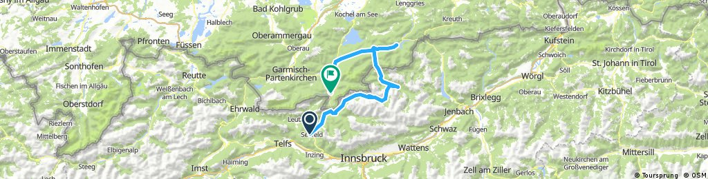 Karwendel mountain biking