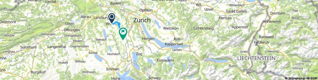 MT 2 Wohlen - Zürich - Buchs