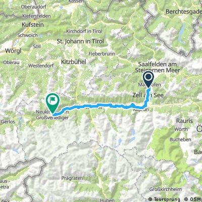 Zell am See - Neukirchen am Grossvenediger