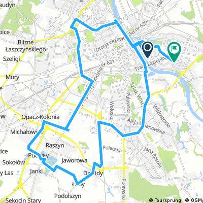 Piątkowy Route w okół Okęcia by Zwierzak