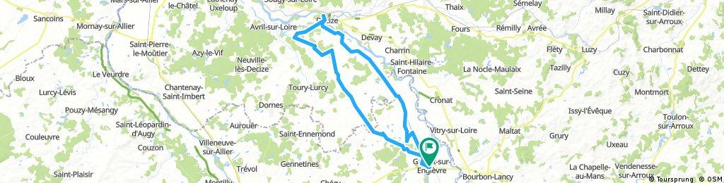 Garnat-sur-engièvre 60 km