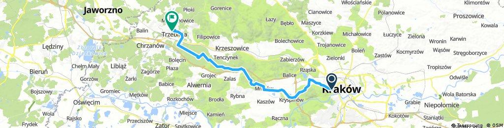 Kraków - Trzebinia