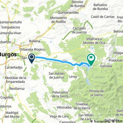 no-Et4 3ago mier:Sta cruz Juarros-Castrillo Val