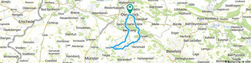 Osnabrück Routenplaner