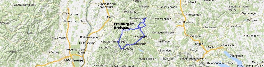 Furtwangen-Notschrei-Feldberg-Furtwangen
