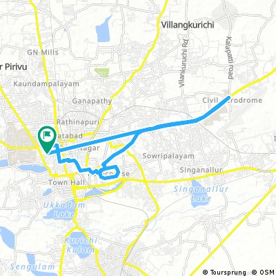 bike tour through Coimbatore