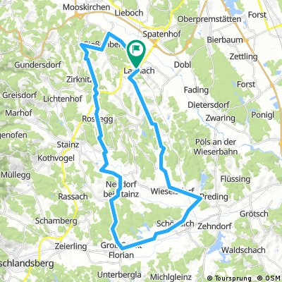 lannach-gießenberg-pirkhof-rossegg-neudorf-groß st. florian-wetzelsdorfberg