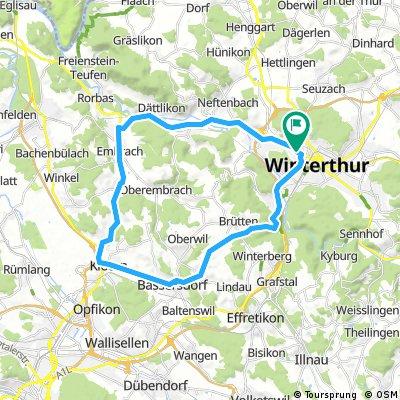 Winterthur-Kloten Runde