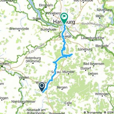 Den Jakobus - Heide - Pilgerweg