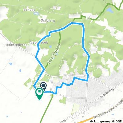 Gård test rute 8,25 km