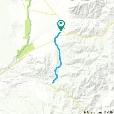 Taos to Amole Canyon Road via NM518