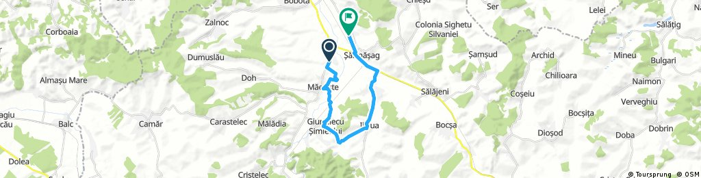 ride from (null) to Sarmasag