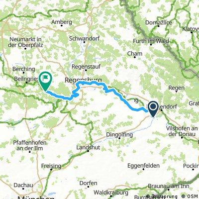 MT 12 Plattlingen - Straubingen - Regensburg - Riedenburg