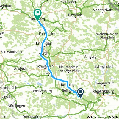 MT 13 Riedenburg - Bamberg