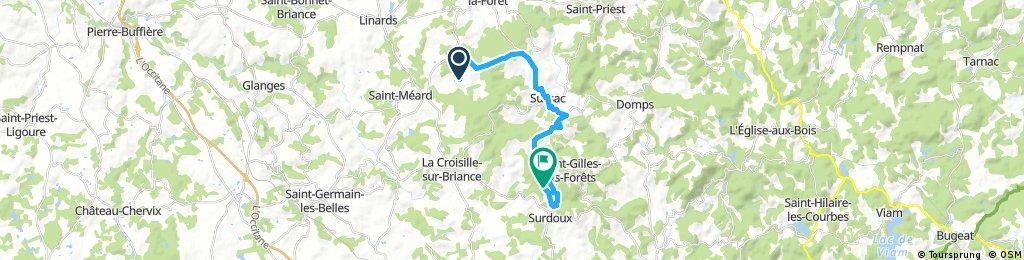 Gargan bikemap