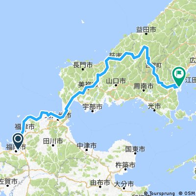 Japan Trip - Master Route