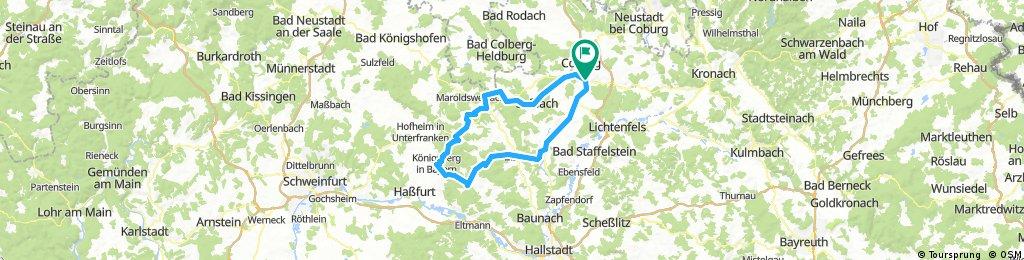 Haßberg-Giro: Teil 3 / Königsberg