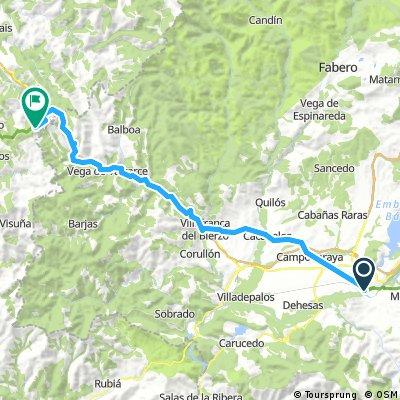 Etappe 10: Ponferrada - O Cebreiro