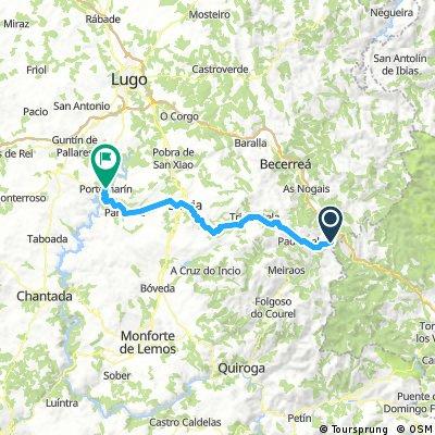 Etappe 11: O Cebreiro - Portomarin