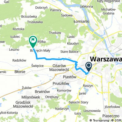 Łopuszańska - Zaborów - dojazd