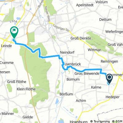Radrunde von Semmenstedt nach Wolfenbüttel