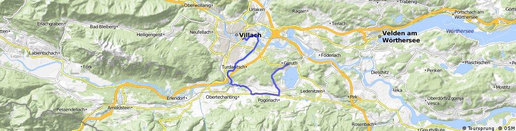 villach-giro Faaker see percorso facile