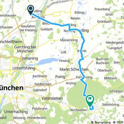 2016 Bayern Tour,Moos--Ebersberger Forst--Antonius Kapelle