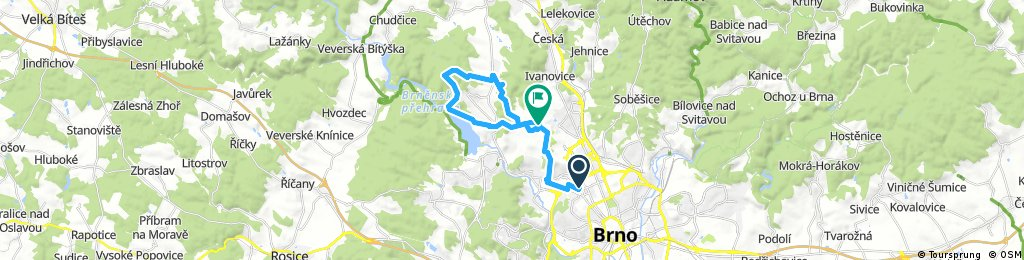 bike tour through Brno