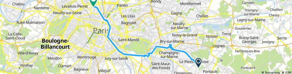 Forêt de la Queue en Brie-Paris