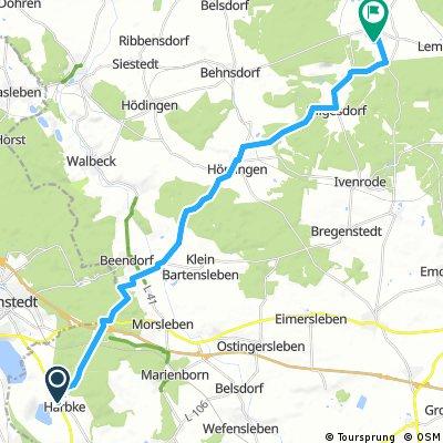 Harbke - Flechtingen und zurück
