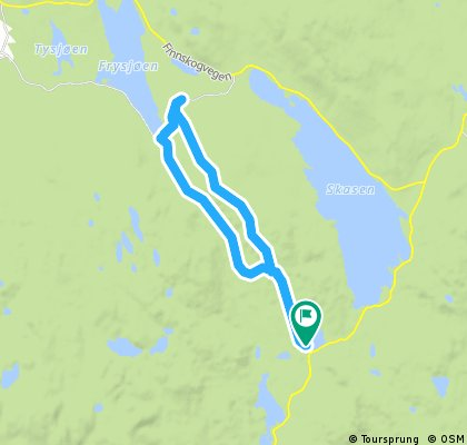 Interval Økt Frysjøen Lundersæter