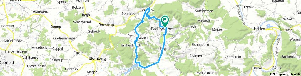 Bad Pyrmont 30km Rundkurs