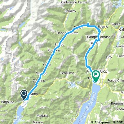 Day 7 - Mesa - Bagolino - Lake Garda