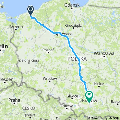Dargocice bikemap