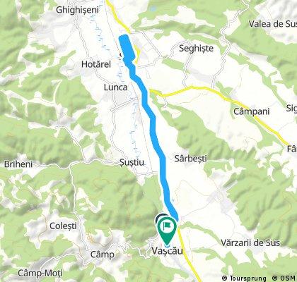 bike tour through Vaşcău