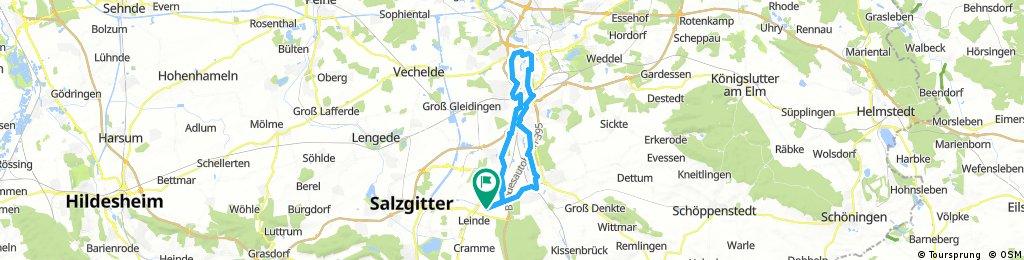 Lange Radrunde durch Wolfenbüttel